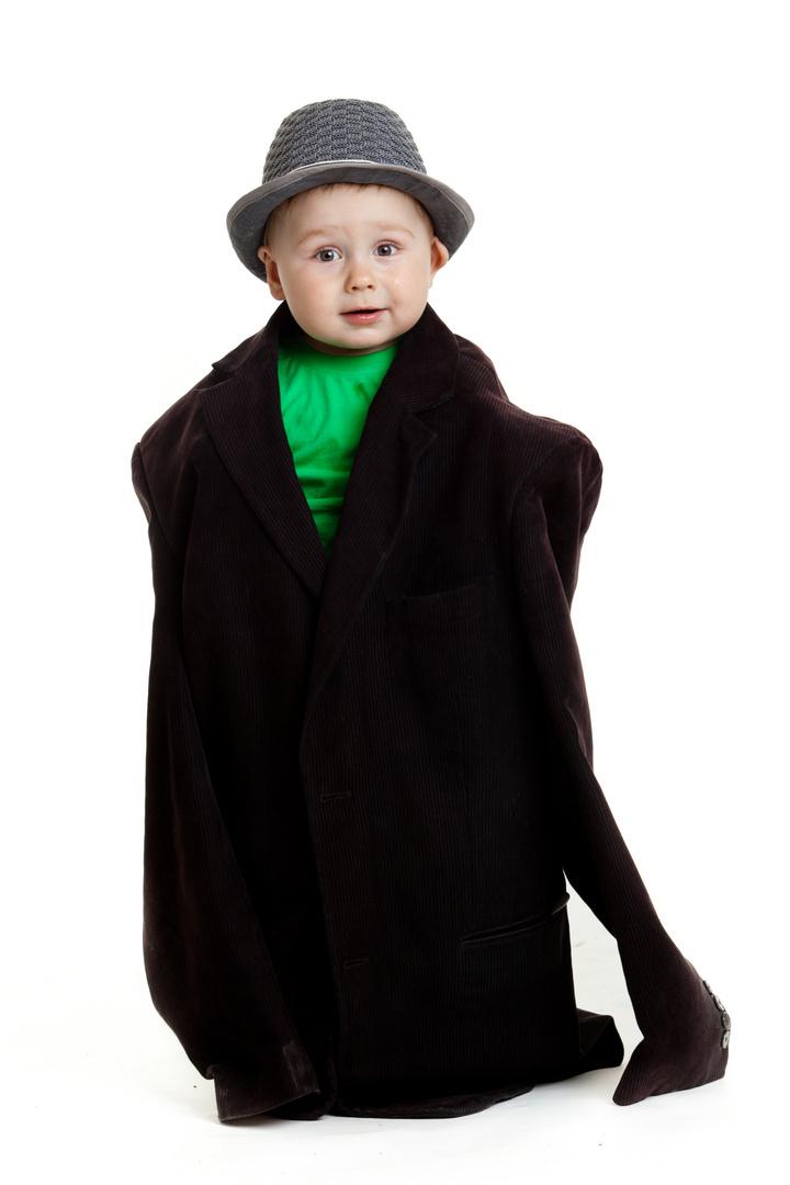baby boy businessman