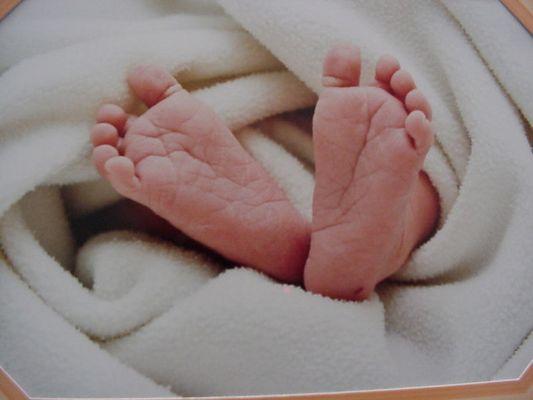 Baby-Füßchen
