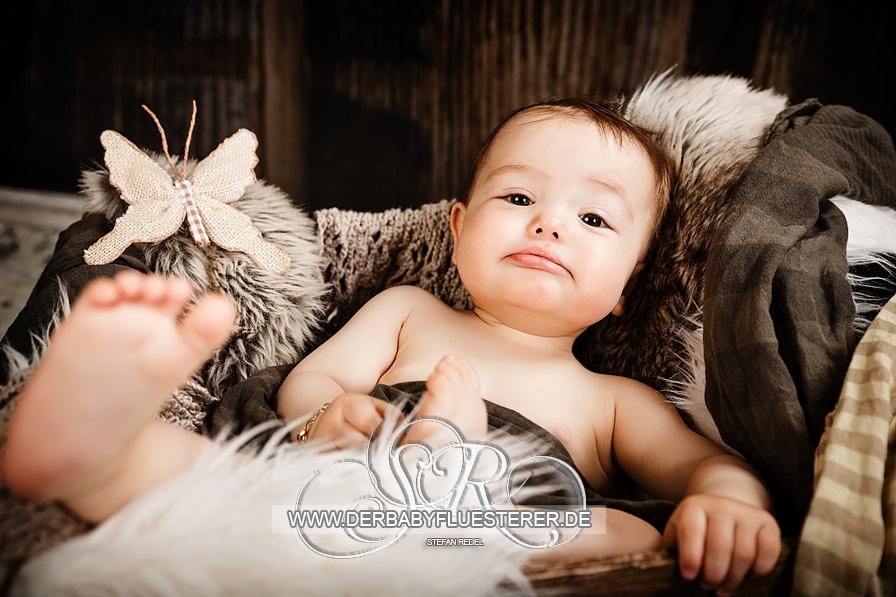 Baby Louis, 8 Monate | (Babyfotograf Stuttgart)