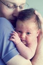 Baby und Tochter