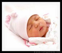 Babyfotografie - Christine von Wiegen - Lichtgemälde 07