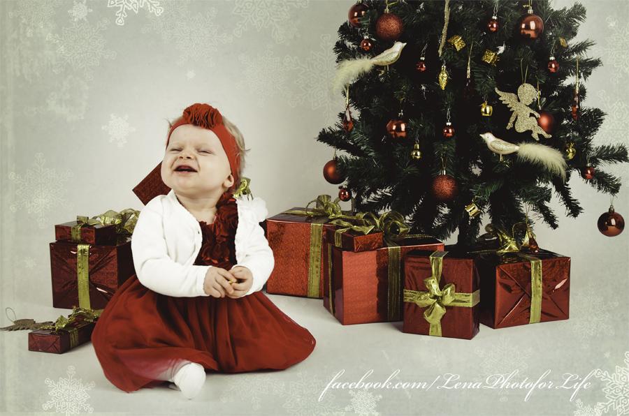 Babys lachen...