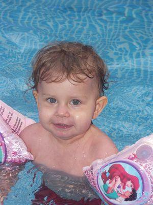 Babyschwimmen.