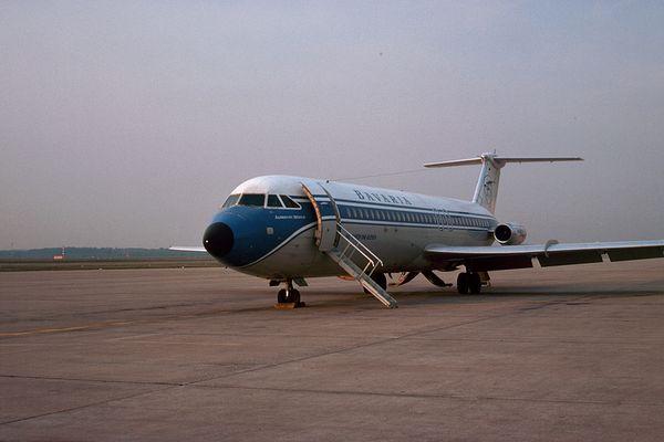 BAC-111 beim Morgencheck