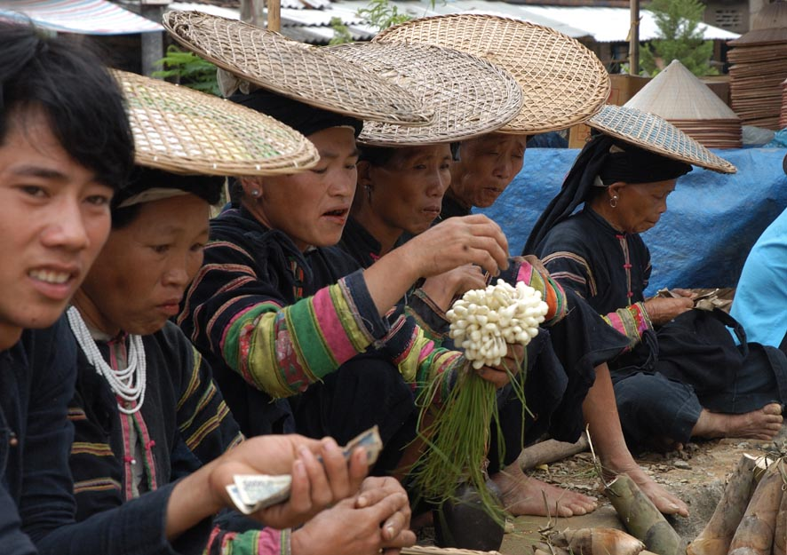 Bac Lam Market - North West Viet Nam