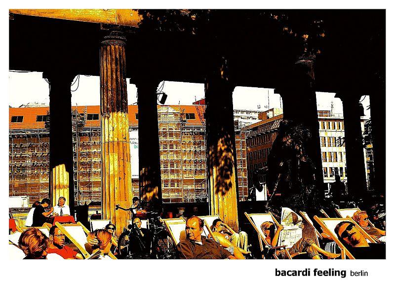 Bacardi Feeling (also) in Berlin