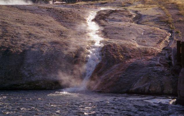 Bach in den Yellowstone