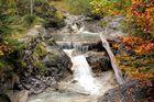 Bachlauf am Wanderweg von Kreuth nach Sieben Hütten (Tegernsee)