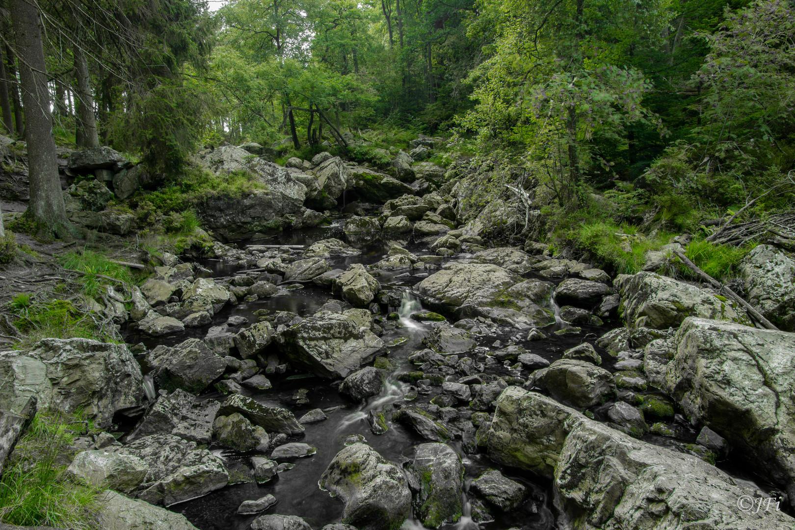 Bachlauf in den Ardennen