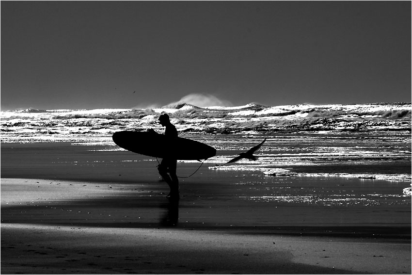 Back from Surfing