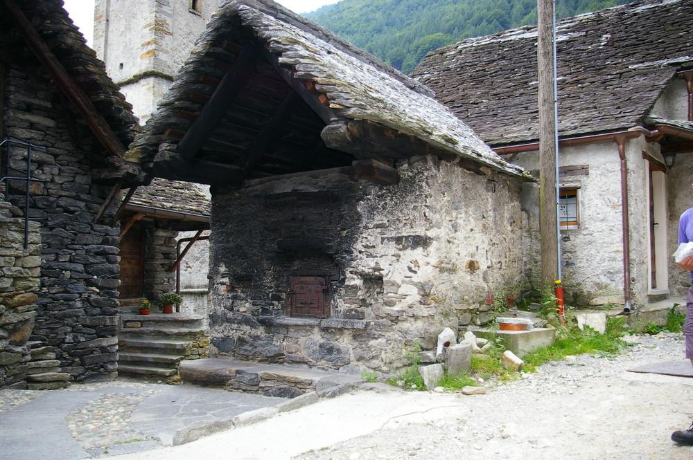 Backhaus in Sonogno