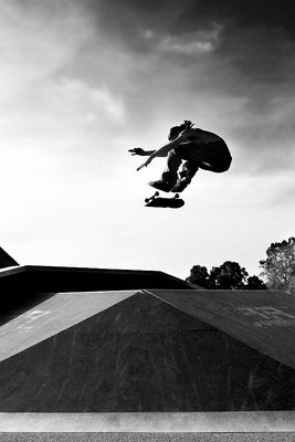 Backlight Skateboarding