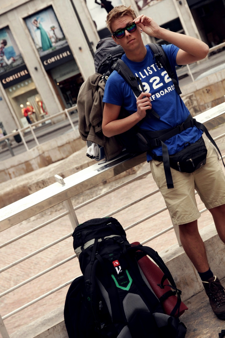 Backpacking through Europe