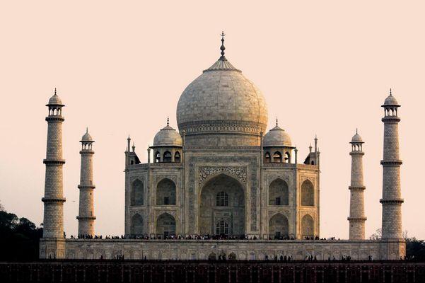 Backside Taj Mahal