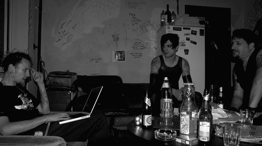 Backstage Atmosphere
