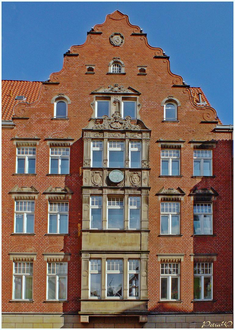 Backstein 1 - Ehemaliges Verlagshaus der Lübecker Nachrichten