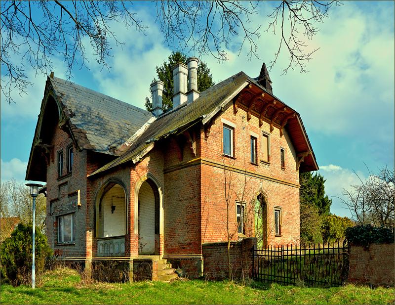 Backsteingebäude von 1870 ...,