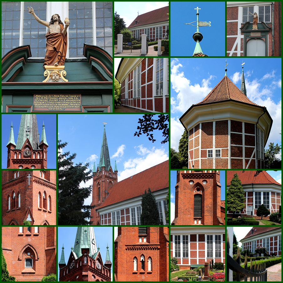 Backsteinkunst an Hamburger Kirchen 1