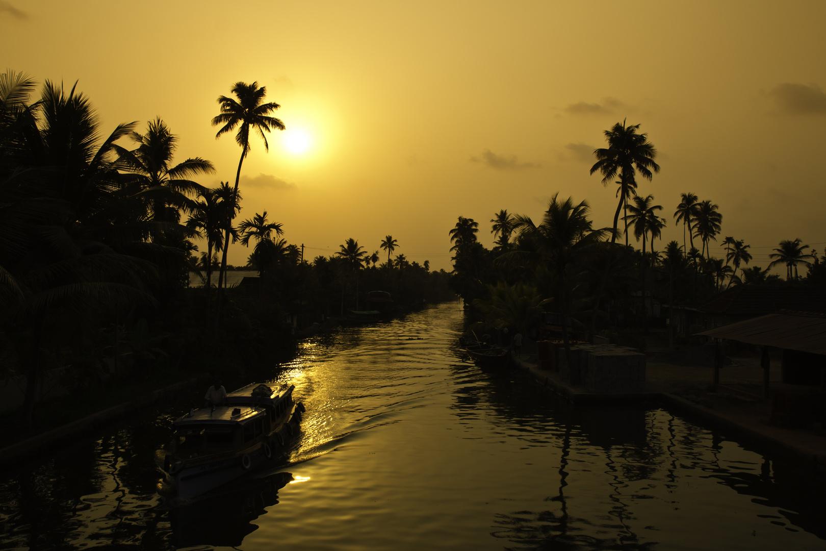 Backwaters Kerala India II