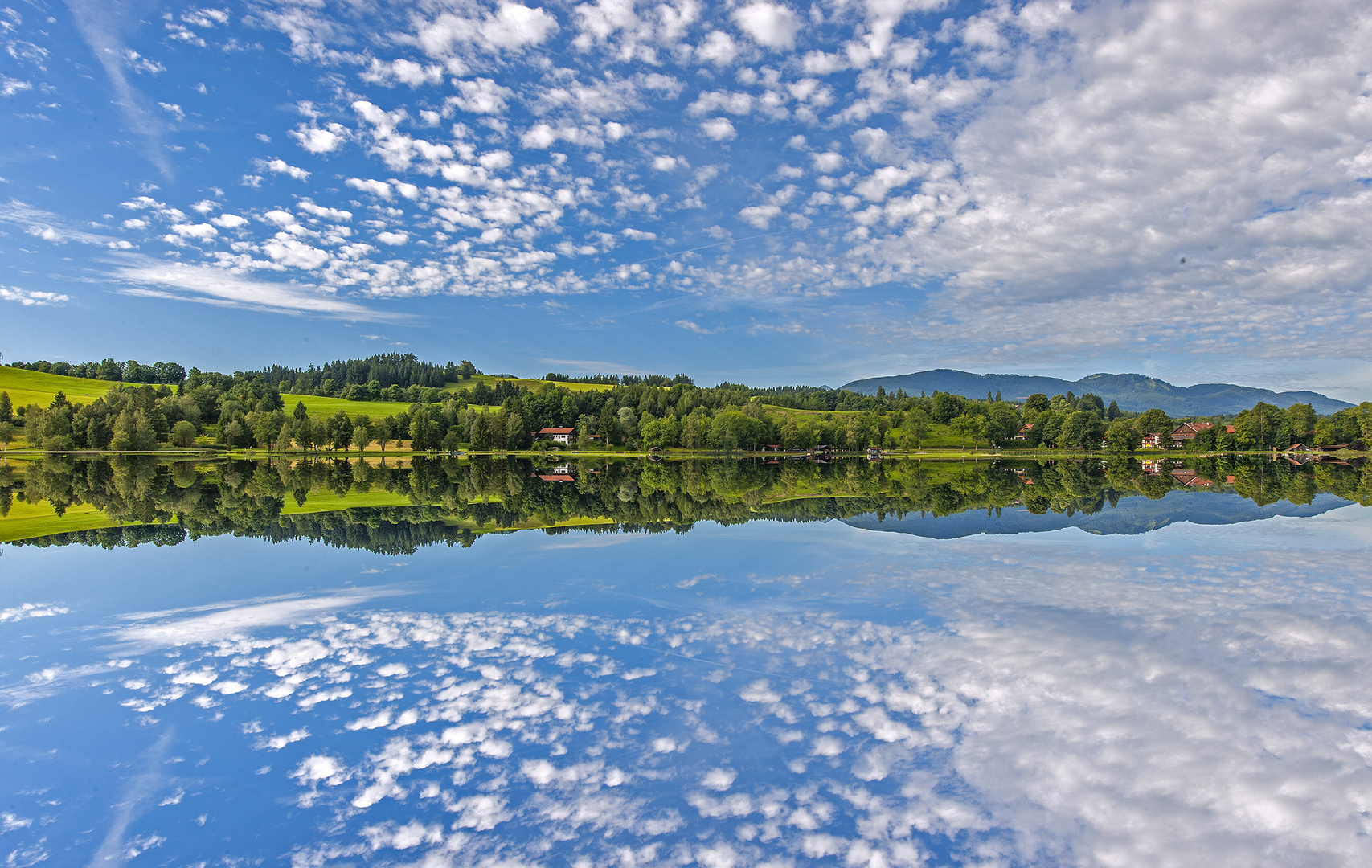 Bad Bayersoien - einer der schönsten Seen im Voralpenland