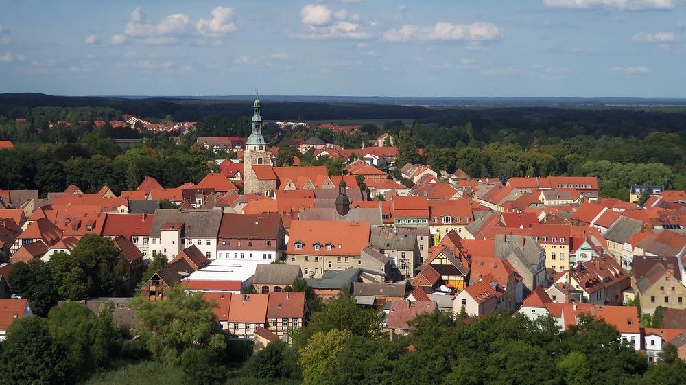 Bad Belzig - Blick von der Burg Eisenhardt