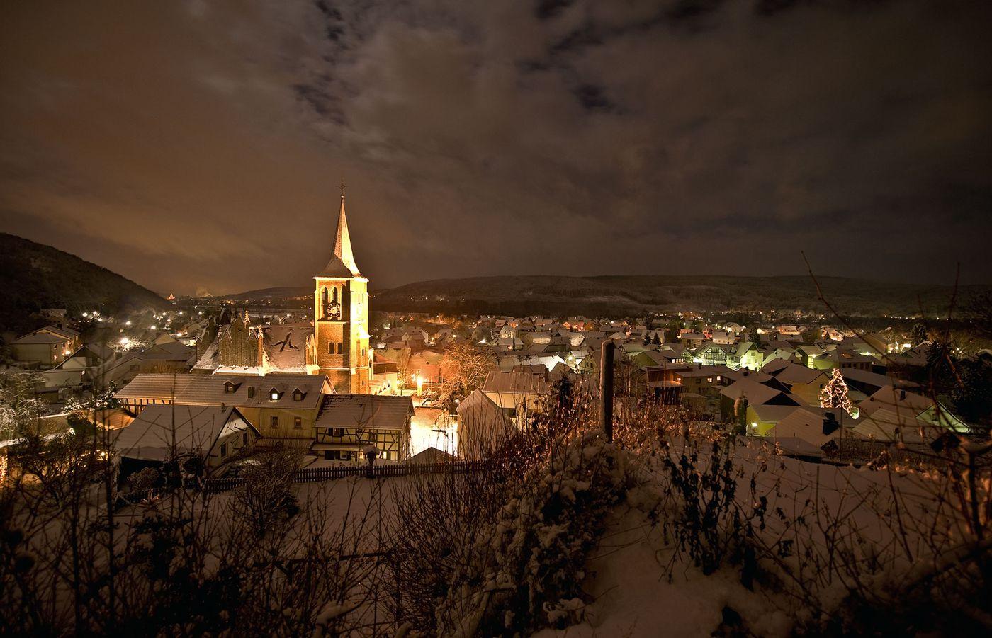 Bad Bodendorf im Schnee