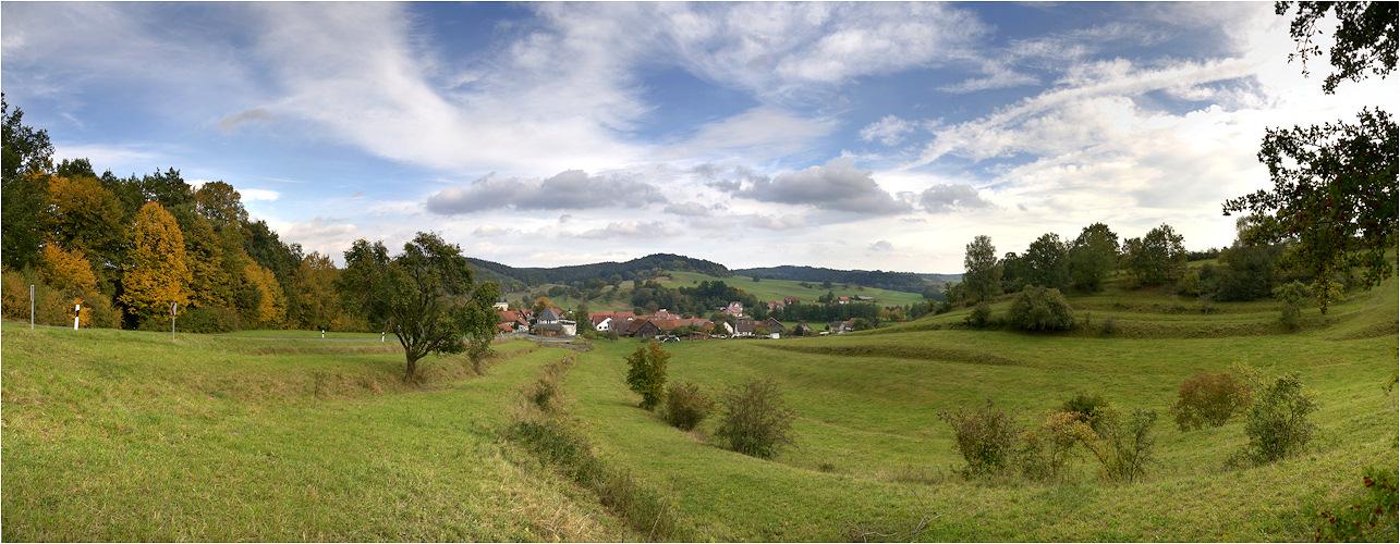 Bad Colberg im Herbst