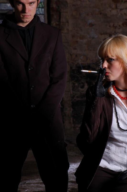 Bad girls never smoke alone