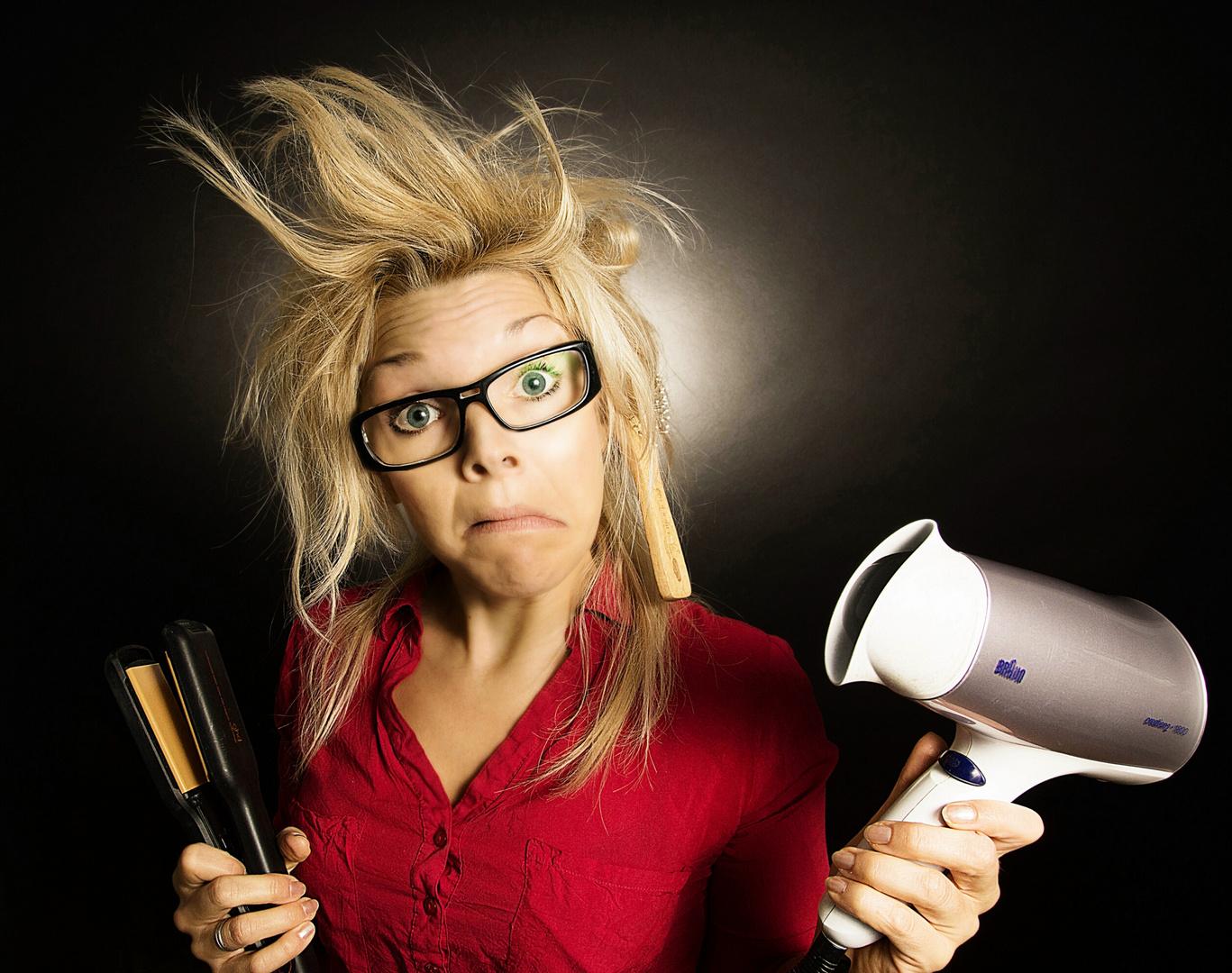 bad hair day.......