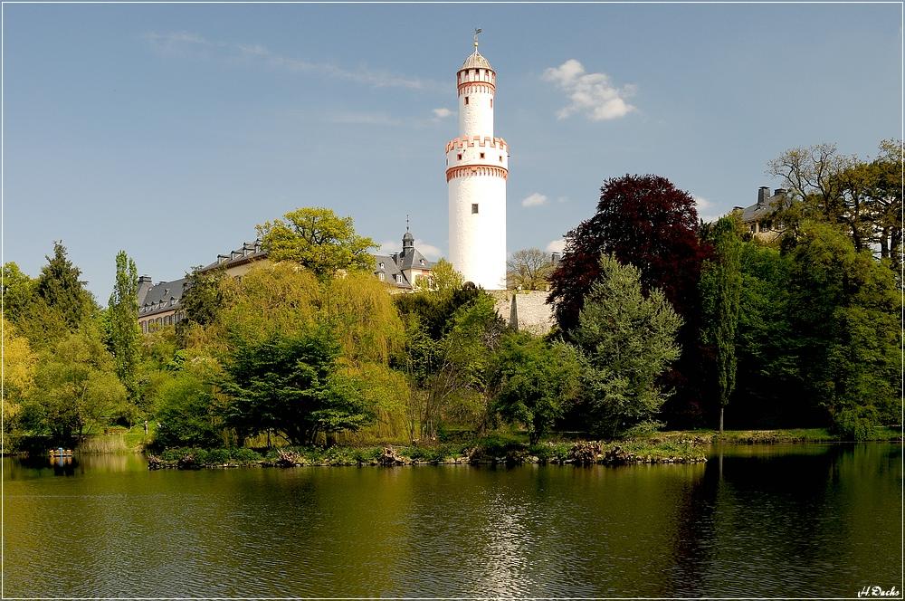 Bad Homburg v.d.H. Schloss von der Schlossparkseite