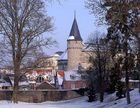 Bad Homburger Schlosspark mit Hexenturm