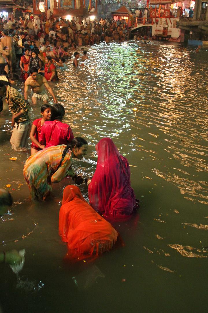Bad im Ganges