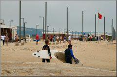 Bad summer weather for surf