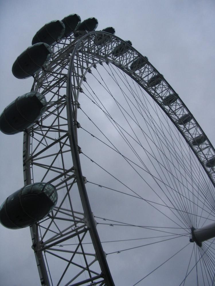 Bad Weather at London Eye