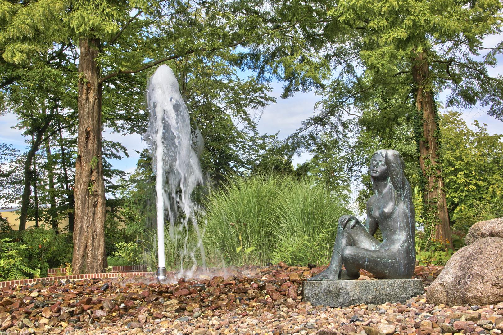 Bad Zwischenahn - Springbrunnen im Kurpark