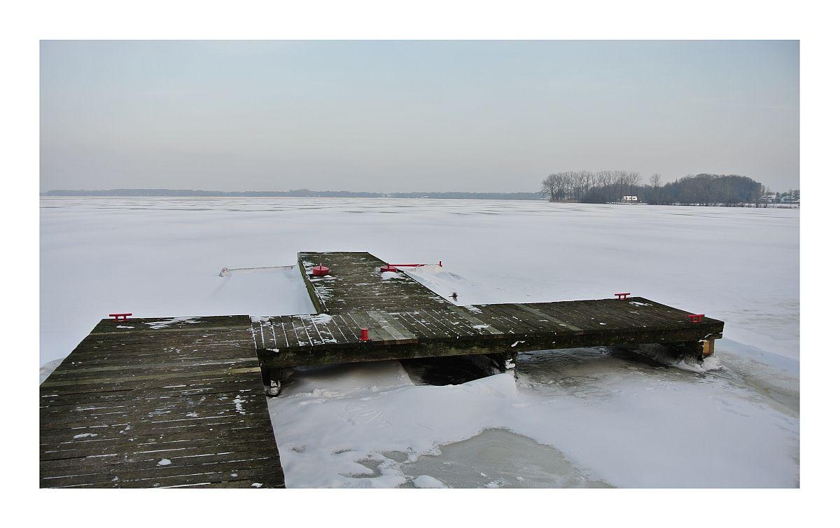 Bad Zwischenahner Meer im Winter