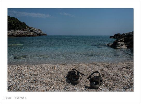 Badebucht in Griechenland (1)