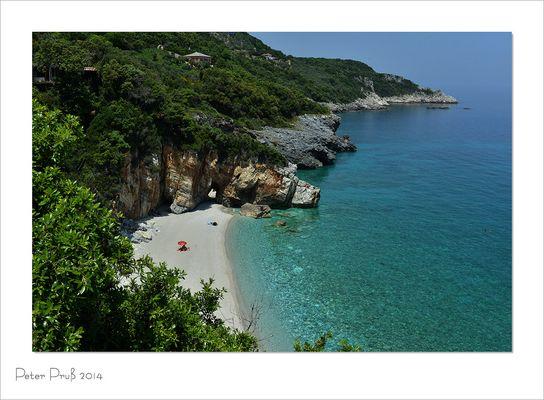 Badebucht in Griechenland (2)