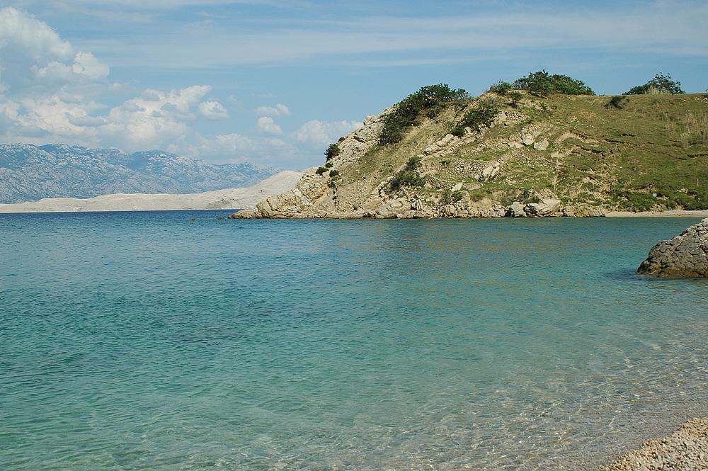 Badebucht in Kroatien