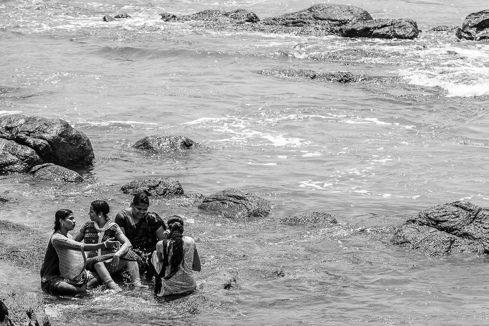 Badefreuden Südkap Indien