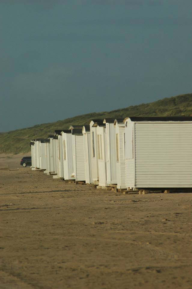 Badehäuser Blokhus Strand