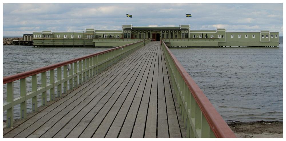 Badehaus in Lindgrün