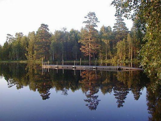 Badesee in Schweden