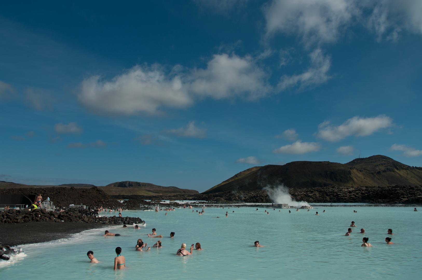 Badespaß bei 16° C