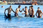 Badespaß in der Türkei