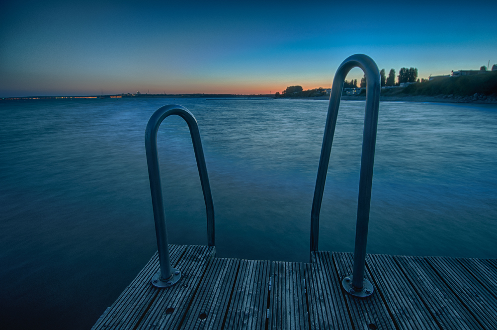 Badesteg Ostsee