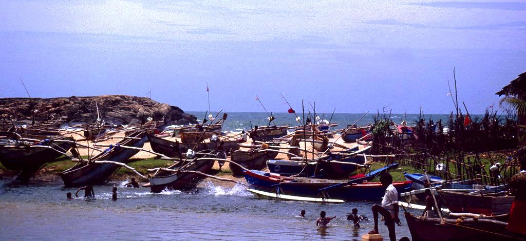 """"""" Badetag der Fischerjungen """" , Sri Lanka"""