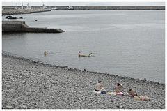 Badevergnügen (am Strand)