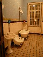 Badezimmer einer alten brasilianischen Villa
