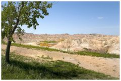 Badlands, South Dakota, oder...